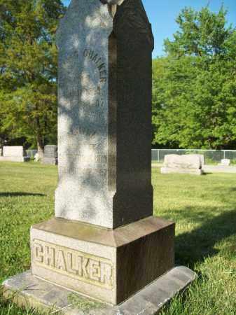 CHALKER, EDMUND - Trumbull County, Ohio | EDMUND CHALKER - Ohio Gravestone Photos