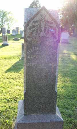 CHALKER, ALLEN - Trumbull County, Ohio | ALLEN CHALKER - Ohio Gravestone Photos