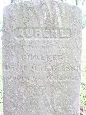 CHALKER, AUREN L. - Trumbull County, Ohio | AUREN L. CHALKER - Ohio Gravestone Photos