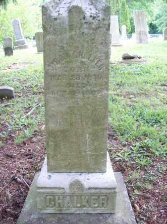 CHALKER, BYRON - Trumbull County, Ohio | BYRON CHALKER - Ohio Gravestone Photos