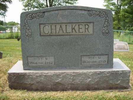 CHALKER, BURT W. - Trumbull County, Ohio | BURT W. CHALKER - Ohio Gravestone Photos