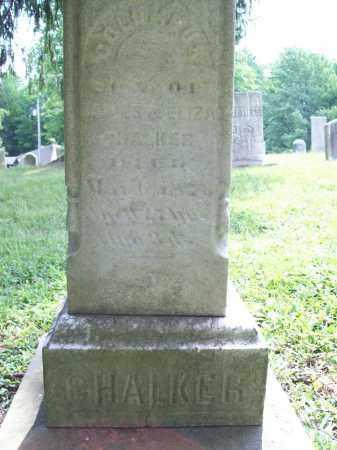 CHALKER, COLUMBUS - Trumbull County, Ohio | COLUMBUS CHALKER - Ohio Gravestone Photos
