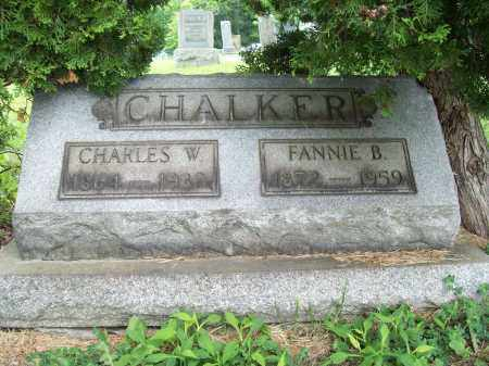 CHALKER, CHARLES W. - Trumbull County, Ohio | CHARLES W. CHALKER - Ohio Gravestone Photos