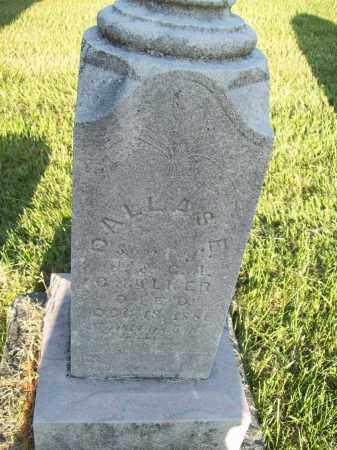 CHALKER, DALLAS ERNIE - Trumbull County, Ohio   DALLAS ERNIE CHALKER - Ohio Gravestone Photos