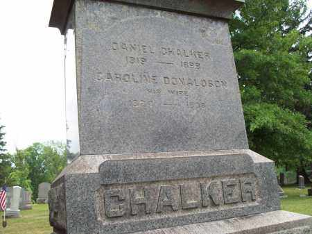 DONALDSON CHALKER, CAROLINE - Trumbull County, Ohio | CAROLINE DONALDSON CHALKER - Ohio Gravestone Photos