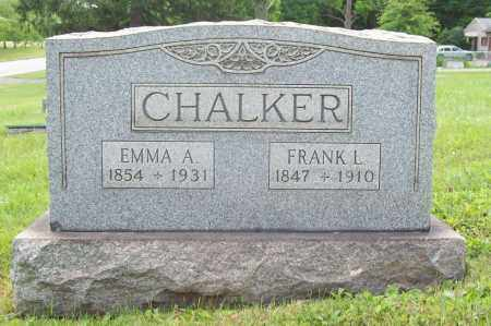 CHALKER, FRANK L. - Trumbull County, Ohio | FRANK L. CHALKER - Ohio Gravestone Photos