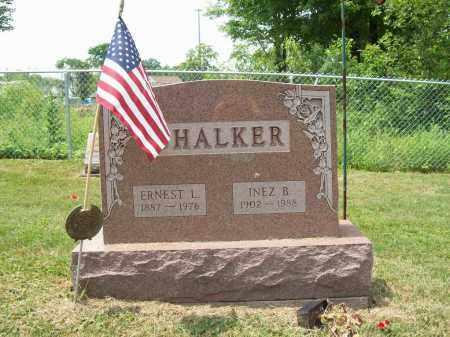 CHALKER, INEZ B. - Trumbull County, Ohio | INEZ B. CHALKER - Ohio Gravestone Photos