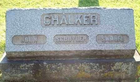 CHALKER, SAMUEL - Trumbull County, Ohio | SAMUEL CHALKER - Ohio Gravestone Photos