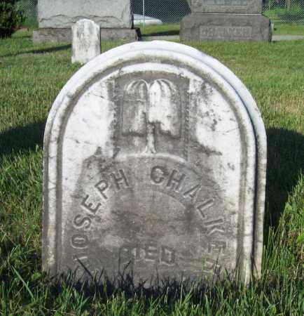 CHALKER, JOSEPH - Trumbull County, Ohio | JOSEPH CHALKER - Ohio Gravestone Photos