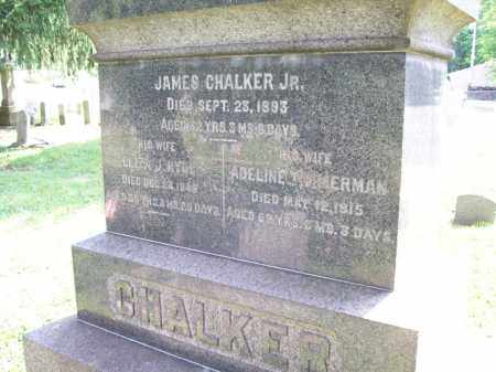 CHALKER, JAMES, JR. - Trumbull County, Ohio | JAMES, JR. CHALKER - Ohio Gravestone Photos