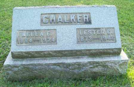 CHALKER, LELLA EDITH - Trumbull County, Ohio | LELLA EDITH CHALKER - Ohio Gravestone Photos