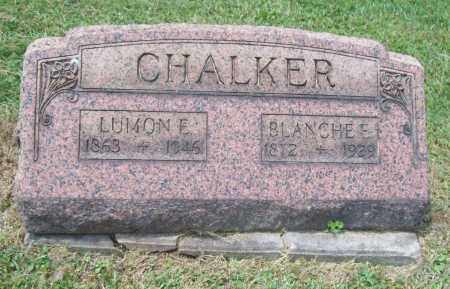 CHALKER, LUMON E. - Trumbull County, Ohio | LUMON E. CHALKER - Ohio Gravestone Photos