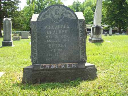 CHALKER, PHILANDER - Trumbull County, Ohio | PHILANDER CHALKER - Ohio Gravestone Photos