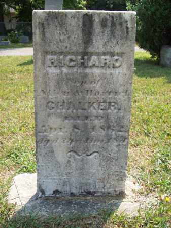 CHALKER, RICHARD - Trumbull County, Ohio | RICHARD CHALKER - Ohio Gravestone Photos