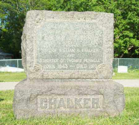 CHALKER, WILLIAM H. - Trumbull County, Ohio | WILLIAM H. CHALKER - Ohio Gravestone Photos