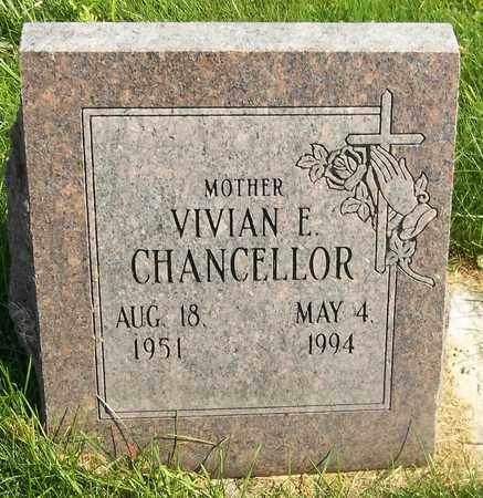 CHANCELLOR, VIVIAN E. - Trumbull County, Ohio | VIVIAN E. CHANCELLOR - Ohio Gravestone Photos