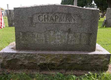 CHAPMAN, BELLE INEZ - Trumbull County, Ohio | BELLE INEZ CHAPMAN - Ohio Gravestone Photos