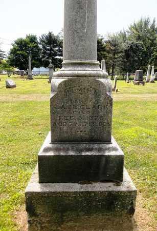 CLARK, ALMIRA - Trumbull County, Ohio | ALMIRA CLARK - Ohio Gravestone Photos