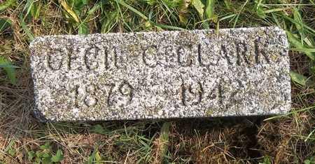CLARK, CECIL C. - Trumbull County, Ohio | CECIL C. CLARK - Ohio Gravestone Photos