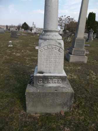 SANDERSON CLARK, DEET - Trumbull County, Ohio | DEET SANDERSON CLARK - Ohio Gravestone Photos