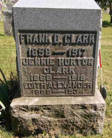 CLARK, JENNIE - Trumbull County, Ohio | JENNIE CLARK - Ohio Gravestone Photos