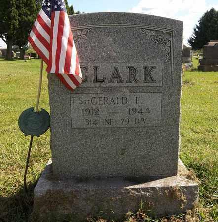 CLARK, GERALD G. - Trumbull County, Ohio | GERALD G. CLARK - Ohio Gravestone Photos