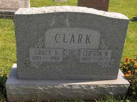 CLARK, CLIFTON W. - Trumbull County, Ohio | CLIFTON W. CLARK - Ohio Gravestone Photos