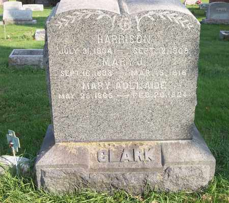 CLARK, HARRISON - Trumbull County, Ohio | HARRISON CLARK - Ohio Gravestone Photos