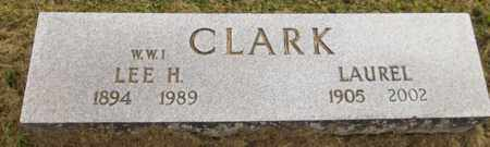 CLARK, LEE H. - Trumbull County, Ohio | LEE H. CLARK - Ohio Gravestone Photos
