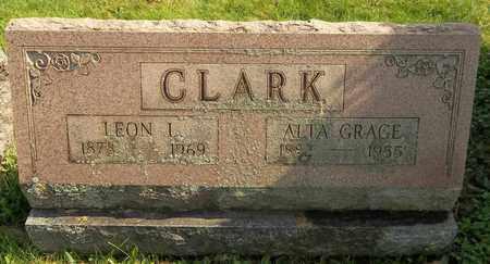 CLARK, LEON L. - Trumbull County, Ohio | LEON L. CLARK - Ohio Gravestone Photos