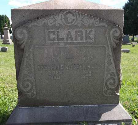 CLARK, AREBELLE - Trumbull County, Ohio | AREBELLE CLARK - Ohio Gravestone Photos