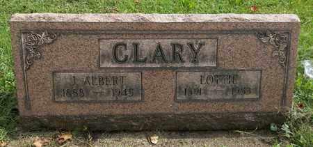 CLARY, J. ALBERT - Trumbull County, Ohio | J. ALBERT CLARY - Ohio Gravestone Photos