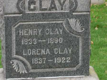 CLAY, HENRY - Trumbull County, Ohio | HENRY CLAY - Ohio Gravestone Photos