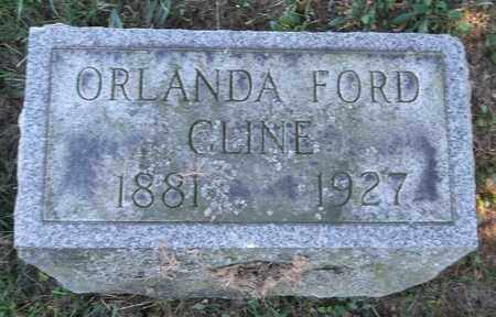 FORD CLINE, ORLANDA - Trumbull County, Ohio | ORLANDA FORD CLINE - Ohio Gravestone Photos