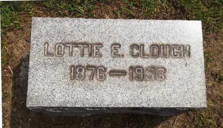 CLOUGH, LOTTIE E. - Trumbull County, Ohio | LOTTIE E. CLOUGH - Ohio Gravestone Photos