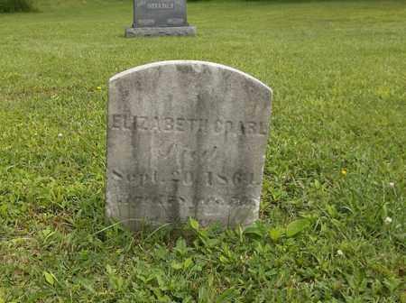 COARL, ELIZABETH - Trumbull County, Ohio   ELIZABETH COARL - Ohio Gravestone Photos