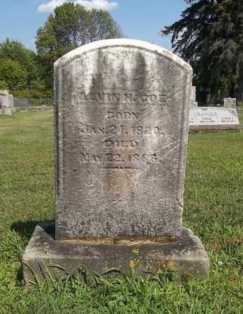 COE, ALVIN - Trumbull County, Ohio | ALVIN COE - Ohio Gravestone Photos