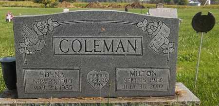 COLEMAN, MILTON - Trumbull County, Ohio | MILTON COLEMAN - Ohio Gravestone Photos