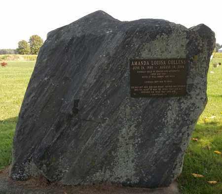 COLLENS, AMANDA LOUISA - Trumbull County, Ohio | AMANDA LOUISA COLLENS - Ohio Gravestone Photos