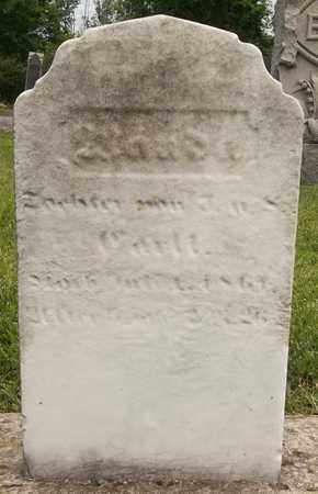 CORLL, AMANDA - Trumbull County, Ohio | AMANDA CORLL - Ohio Gravestone Photos
