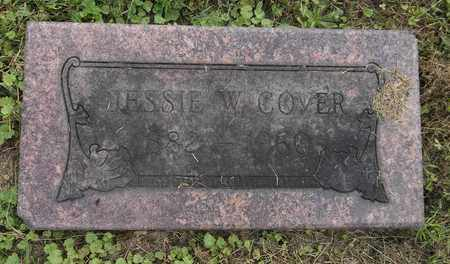 COVER, JESSIE W. - Trumbull County, Ohio | JESSIE W. COVER - Ohio Gravestone Photos