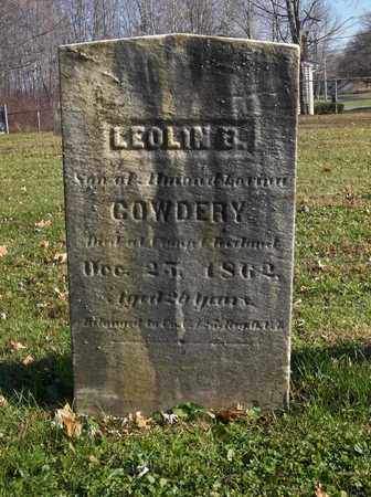 COWDERY, LEOLIN - Trumbull County, Ohio | LEOLIN COWDERY - Ohio Gravestone Photos