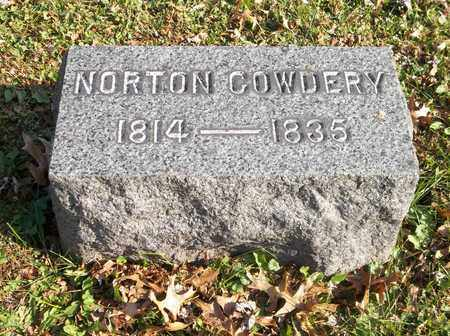 COWDERY, NORTON - Trumbull County, Ohio | NORTON COWDERY - Ohio Gravestone Photos
