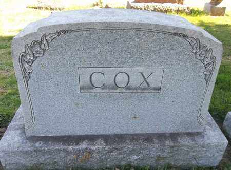 COX, EDGAR C. - Trumbull County, Ohio | EDGAR C. COX - Ohio Gravestone Photos