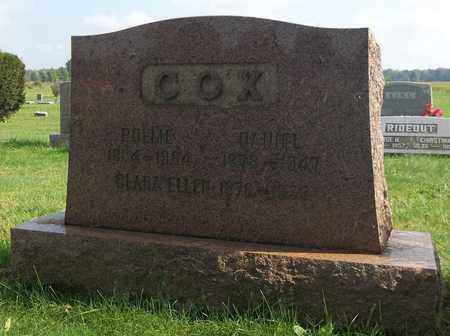 COX, POLLIE - Trumbull County, Ohio | POLLIE COX - Ohio Gravestone Photos