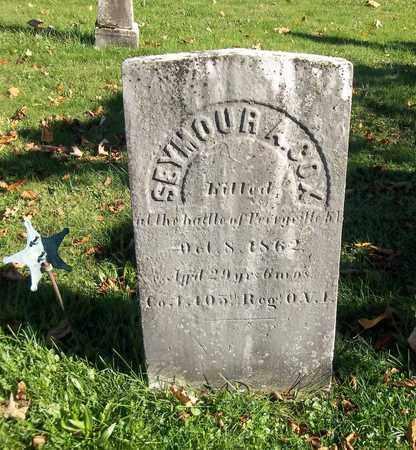 COX, SEYMOUR A. - Trumbull County, Ohio | SEYMOUR A. COX - Ohio Gravestone Photos