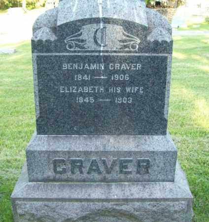 CRAVER, ELIZABETH - Trumbull County, Ohio | ELIZABETH CRAVER - Ohio Gravestone Photos