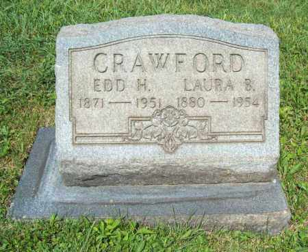 WILSON CRAWFORD, LAURA B. - Trumbull County, Ohio | LAURA B. WILSON CRAWFORD - Ohio Gravestone Photos