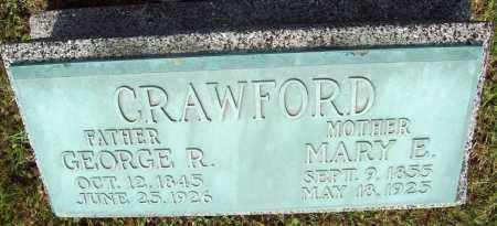CRAWFORD, MARY E. - Trumbull County, Ohio | MARY E. CRAWFORD - Ohio Gravestone Photos