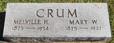 CRUM, MELVILLE H. - Trumbull County, Ohio | MELVILLE H. CRUM - Ohio Gravestone Photos